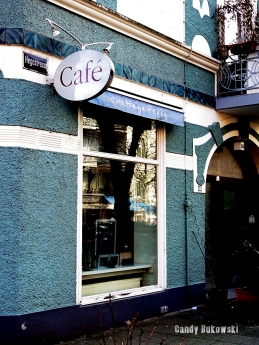 Blaues Cafe