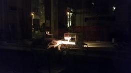Nähmaschine im Schaufenster