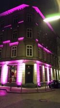 Bar Hamburg nachts in Pussypink