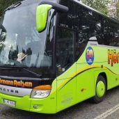 Europaweit per Bus
